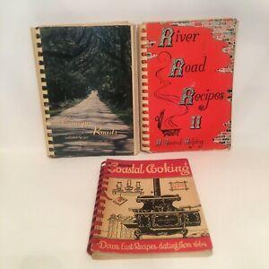 Vintage Spiral Bound Paperback Cookbooks From ***MAINE FLORIDA & LOUISIANA ***