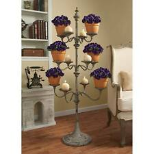 Chandelier Candelier Candle Flower Pot Plant Tree Metal Display Stand