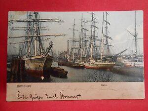 Postkarte-Marine-Schiffe-Original-Hamburg
