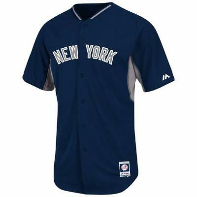 outlet store dd9b2 65ba5 New York Yankees jersey $135 Majestic Authentic On-Field BP Cool Base NWT |  eBay