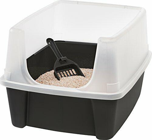 Katzentoilette mit Rand und Schaufel 'Cat Litter Box', Plastik,katzenklo