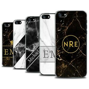 best service f0bd3 b2962 Details about Personalized Custom Marble/Granite Phone Case for Apple  iPhone SE/Initial/Cover