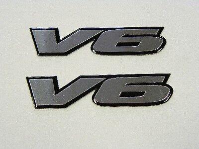 CHEVY CAMARO RS V6 2LT ENGINE FENDER BADGES EMBLEMS