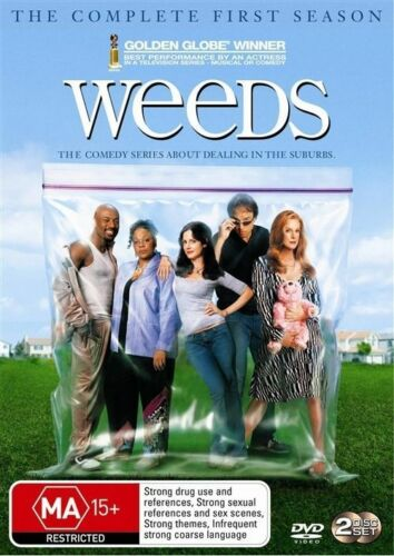 1 of 1 - Weeds : Season 1 (DVD, 2007, 2-Disc Set) - brand new