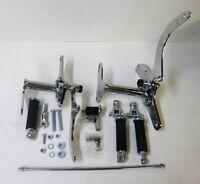 Chrome Forward Controls For Harley Xl Sportster 79-81 Hardware Pegs Caps Kit