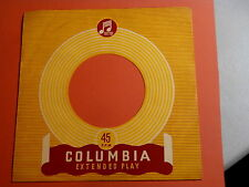 "COLUNBIA RECORDS~RARE ENGLAND ~  ORIGINAL COMPANY SLEEVE ONLY ~ 7"" SINGLE 45 RPM"