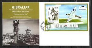 Gibraltar-2010-batalla-d-039-Inglaterra-Yvert-FDC-coleccion-n-92-nueva-1er-eleccion