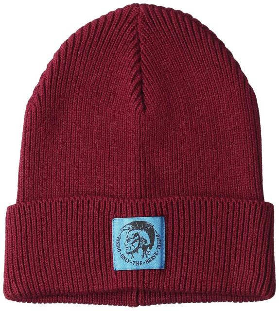 Buy Diesel K-coder Cap Wool-cotton Beanie Hat Knit Men Women Unisex ... ce8d13e5d4b