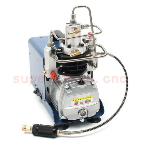 30Mpa High Pressure Air Compressor PCP Pump 300Bar 4500PSI 220V 1.8KW 2-Stage