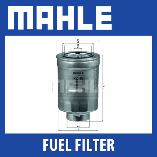 MAHLE Filtro Carburante kc83d-si adatta a Toyota-Genuine PART