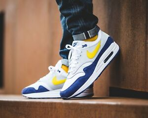 air max 1 bleu jaune