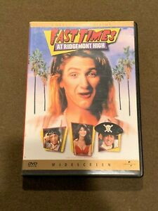 Fast-times-At-Ridgemont-High-Movie-DVD-Collector-039-s-Edition-Widescreen