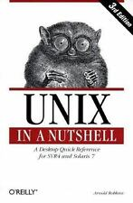 UNIX in a Nutshell: System V Edition, 3rd Edition (In a Nutshell (O'Reilly)) Ro