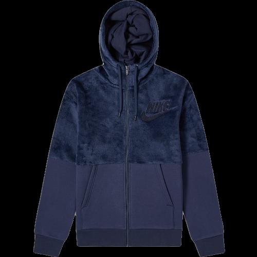 Nike Haarig Sherpa Winter Kapuzenpulli Neu Herren Obsidian 2018 Sportkleidung