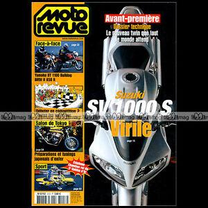 MOTO-REVUE-N-3553-BMW-R850-R-YAMAHA-BULLDOG-HONDA-CRF-450-R-CUP-GUIDON-D-039-OR-2003