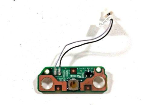 V000210850 Toshiba Satellite C655D-S5300 Power Button Board 6017B0258201 Genuine