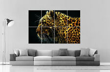LEOPARD  Wall Art Poster Grand format A0 Large Print