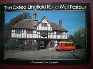 POSTCARD RP ROYAL MAIL THE OXTED  LINGFIELD ROYAL MAIL POSTBUS - Tadley, United Kingdom - POSTCARD RP ROYAL MAIL THE OXTED  LINGFIELD ROYAL MAIL POSTBUS - Tadley, United Kingdom