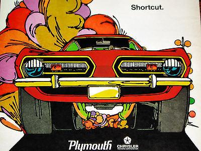1968 PLYMOUTH BARRACUDA ORIGINAL AD-Formula S/340/383 V8 engine/block/heads/vtg