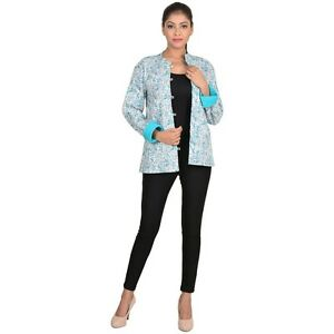 3f13e34a9 Details about New Stylish Girls Jacket Indian Cotton Quilted Winter  Reversible Jacket #NJ-135