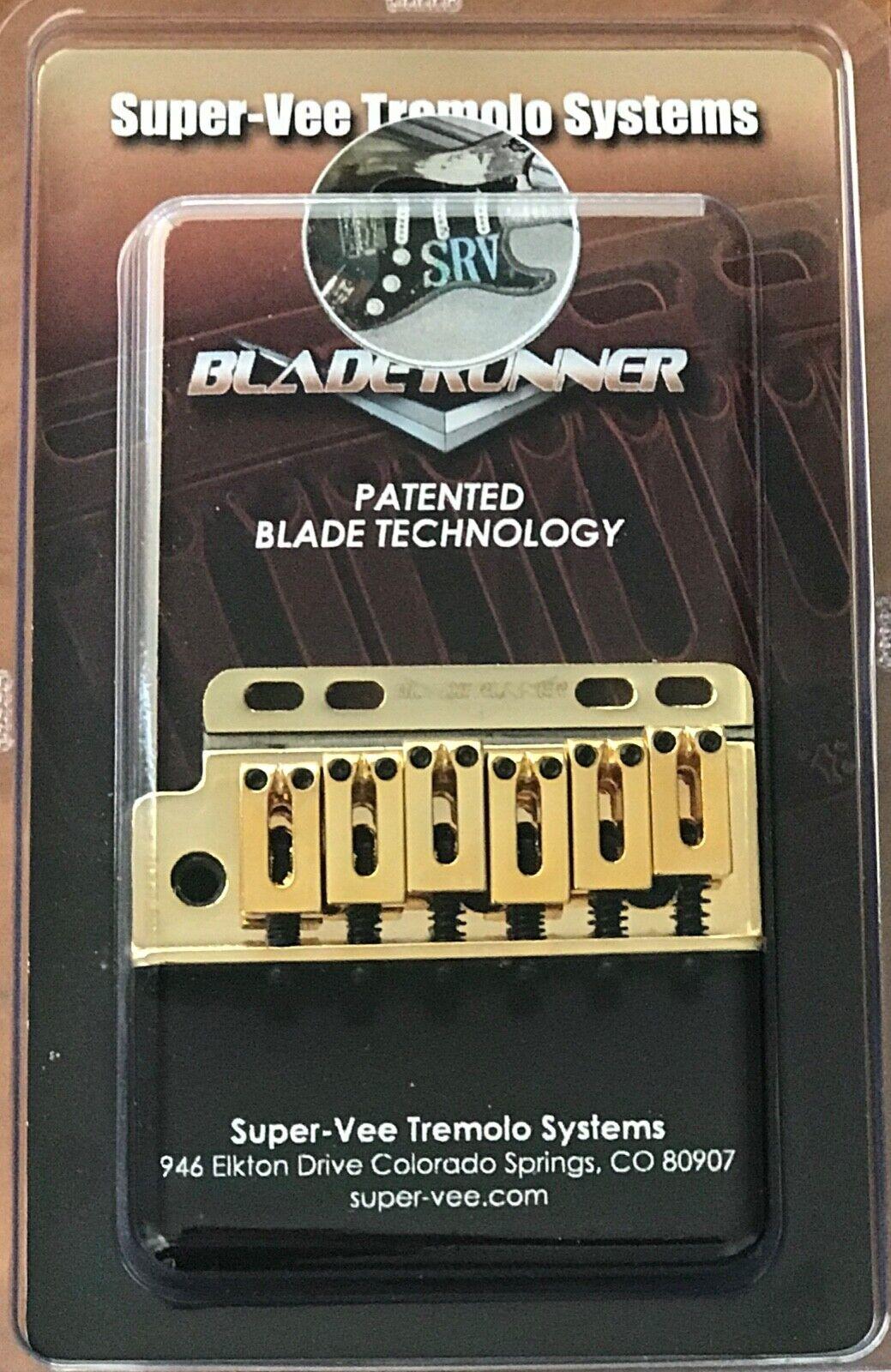 SuperVee SRV Lefty For Right Hand Bladerunner - Gold