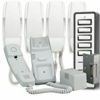 Bell905 5 Way System Audio Door Phone Intercom Electric Lock Kit Power Supply