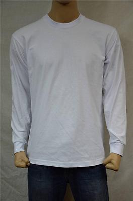 6 NEW PROCLUB S-7XL HEAVY WEIGHT T-SHIRTS WHITE PLAIN TEE PRO CLUB BLANK