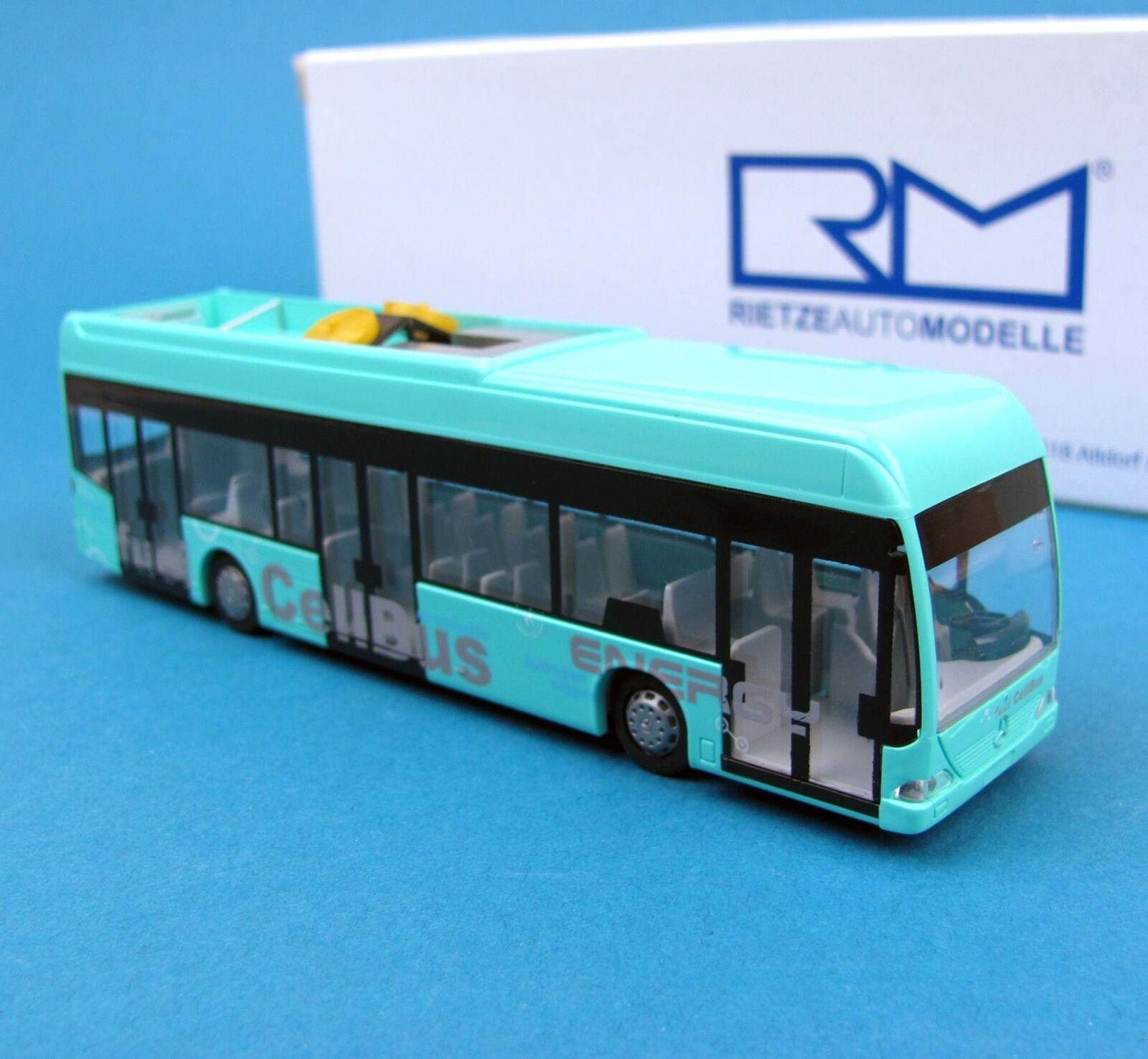 Rietze H0 H0 H0 65100 MB Citaro Cell-Bus Vorführfahrzeug Linienbus Stadtbus HO 1 87  | Hohe Qualität und günstig  165d71