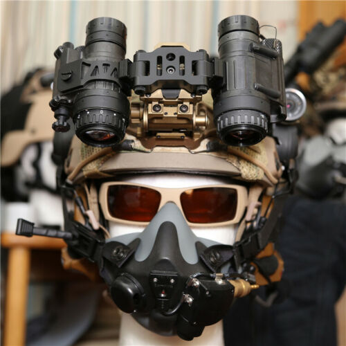 L4G24 helmet Mount FOR Dual AN//PVS 14 NVG Tactical Metal PVS28 Bracket J arm
