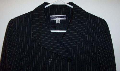 carriera pantaloni pezzi 8p Amanda nero vestito Smith New gessato 172 3 Petites 6BnPwvwqH