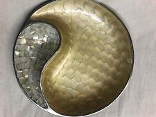 julia knight classic yin yang bowl 13in mother of pearl ebay