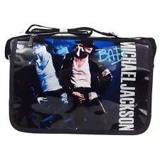 Michael Jackson Tasche/Sack/bag aus PU-Leder mit MJ BAD Motiv für MJ Fans 112 f3