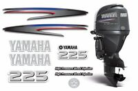 Yamaha 225 Hpdi Sticker Decals Outboard Engine Graphic 225hp Sticker Usa Made