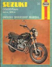 SUZUKI GS850 EN,GT,GTL HAYNES WORKSHOP MANUAL 1978-1980