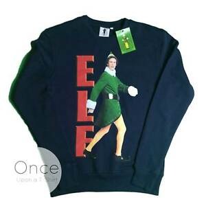Official Unisex Mens Buddy The Elf Christmas Sweater Jumper