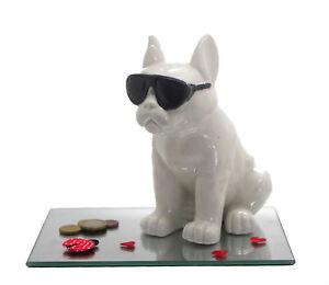 Spardose Keramik Cool Dog 18 Cm Geldgeschenk Weihnachten Geburtstag
