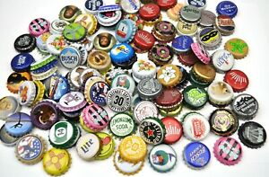 Set-mit-50-USA-Bier-Soda-Kronkorken-Bottle-Caps