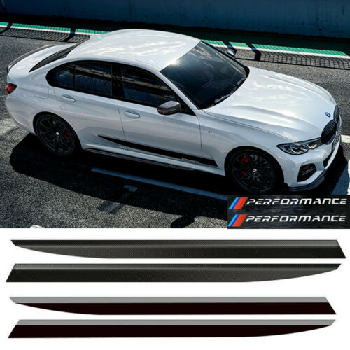 \\\ Performance Car Door Side Skirt Sill Vinyl Decal Stripe Stickers For BMW G20