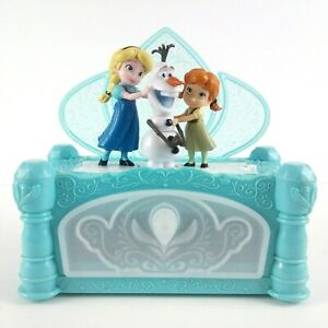 Disney-Frozen-Jakks-Pacific-Elsa-Anna-Olaf-Music-Box-Build-a-Snowman-Animated