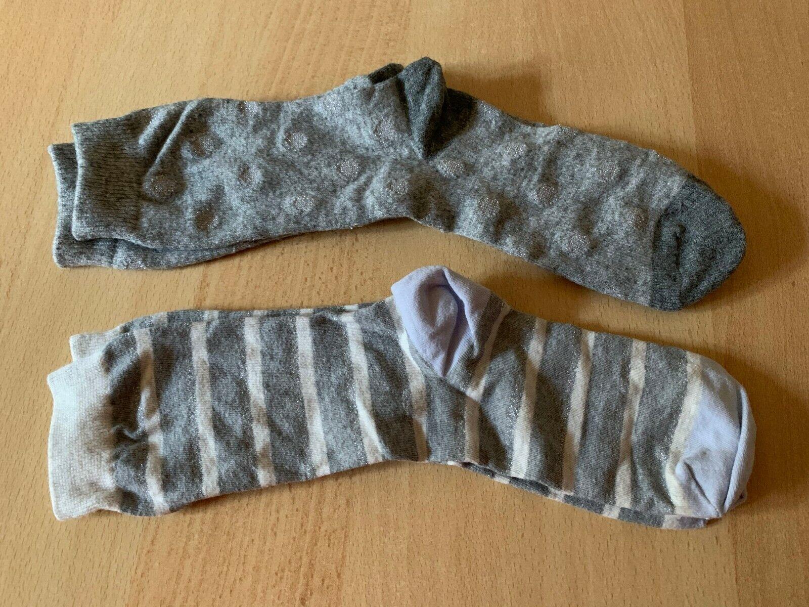 2 Paar GAP Damen-Socken, Gr. 38/39 - neu