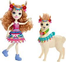 Enchantimals ~ Lluella Llama Doll & Fleecy Llama
