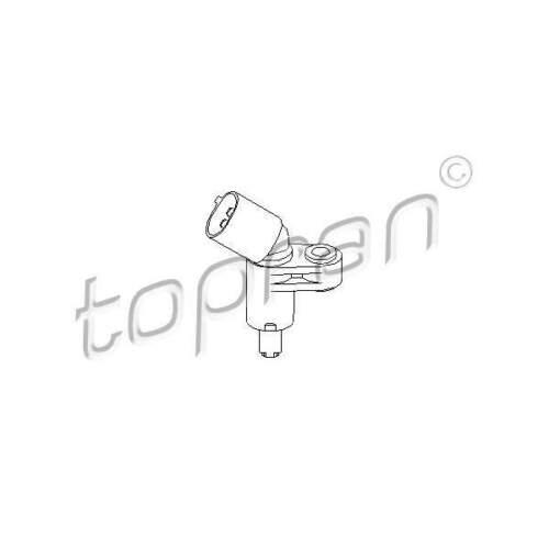 ABS Sensor Drehzahlfühler Raddrehzahl Raddrehzahlfühler TOPRAN 109 752