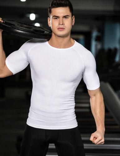 Men/'s Compression Vest Posture Corrector Chest Shaper Belly Control T Shirt Tank