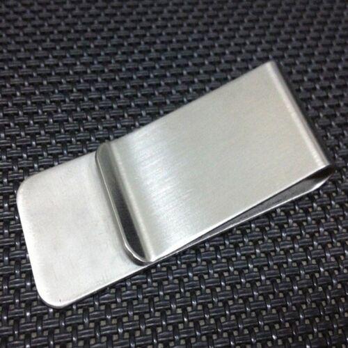 Card ID Clip Slim Pocket Metal Clip Cash Clamp Wallet Money Clip Men Purse
