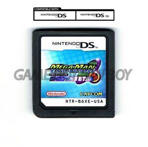 Rockman EXE Operate Shooting Star ENGLISH Mega Man Battle Network 1 Nintendo DS