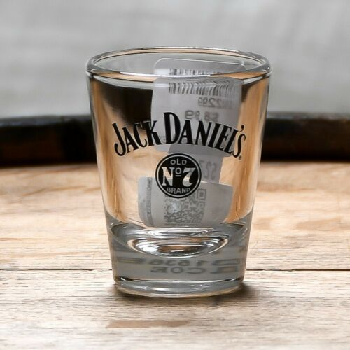Jack Daniels Shot Glass Swing and Bug Old No 7-2 oz Tennessee Whiskey
