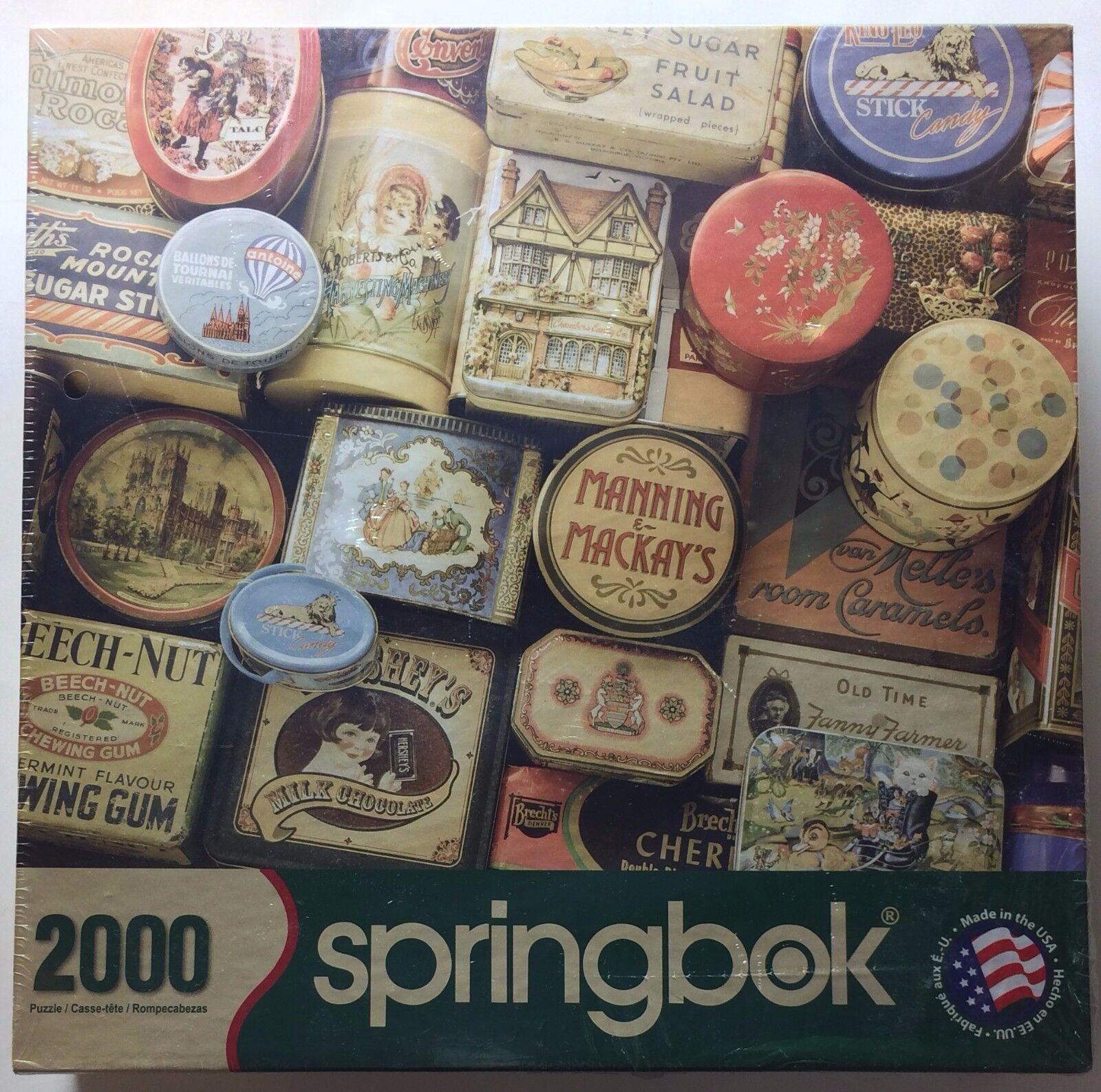 Springbok -Vintage Treasures 2000 Piece Puzzle