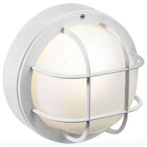 Modern Nautical Outdoor Exterior Flush Mount Light Lighting Wall Lantern Fixt