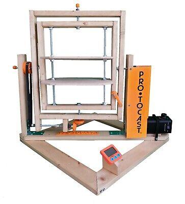 Rotocasting machine W01 300*300mm.