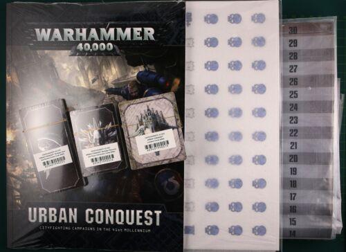 Urban Conquest cathéchisme Accessoires Set anglais warhammer 40k 11980